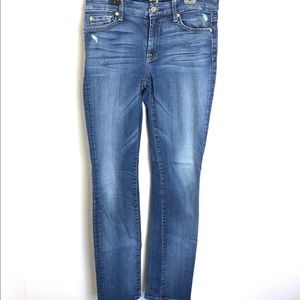 7 for all ManKind Jeans Kimmie Straight  Leg Wo 29